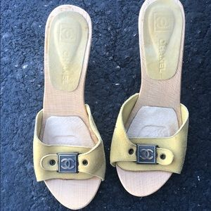 Chanel open toe vintage